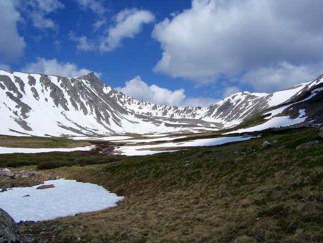 Above the Upper Mohawk Lakes,...