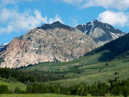 Lorenzo Peak when viewed from...
