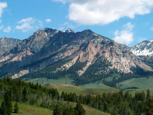 Lorenzo Peak from Baker...