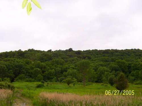 The West Ridge of Pochuck Mt.