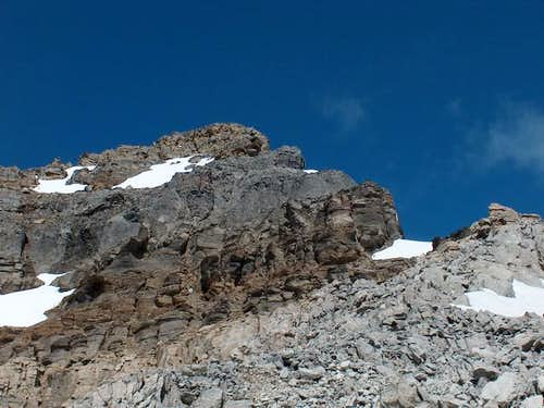 The crux of Mt. Bosworth, the...