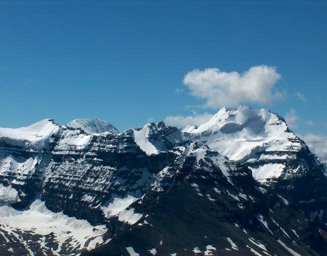 The North Ridge Route of Mt....