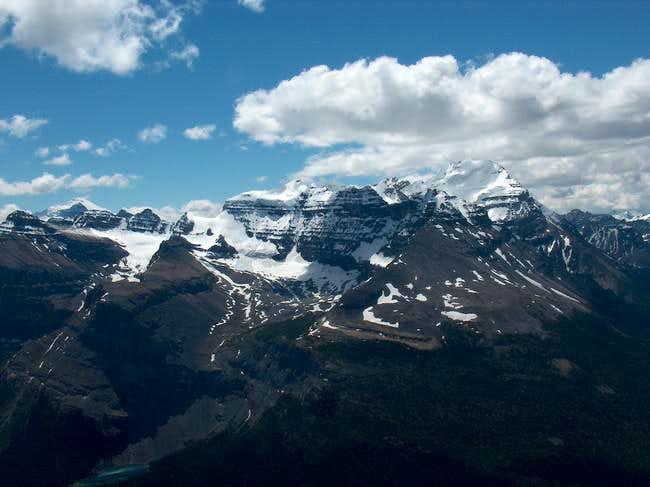 Popes Peak, Mt. Victoria and...