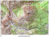 Deming Mountain topographic...