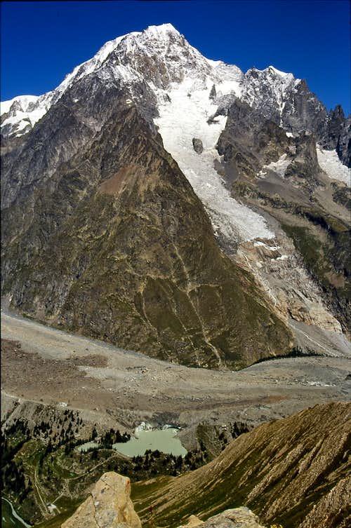 Mont Blanc ... where the Dora Baltea born
