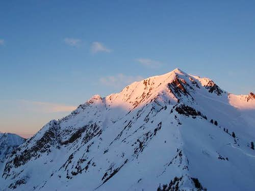 Mount Superior shown with...
