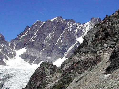 Piz Scerscen south face from...