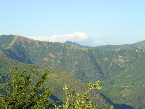 Mount Bano ( 1035 mt ) from...