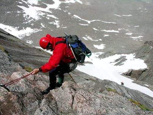 The North Face Route of Longs Peak