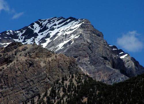 Donaldson Peak, Idaho's no....