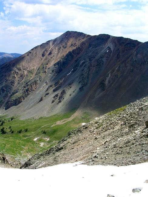 Kelso Peak seen from just...