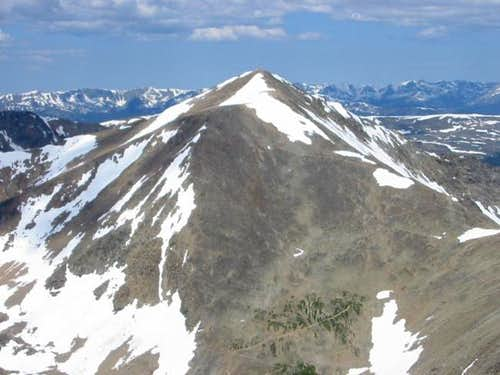 The southeast face of Mount...