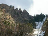 The five North summits of Mt....