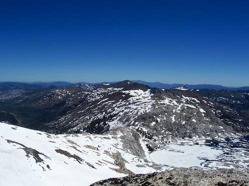 Ridge running from Mount...