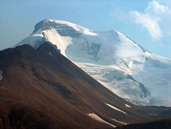 Mt. Athabasca, showing the...