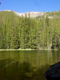 Salt Lick Gulch Lake with...
