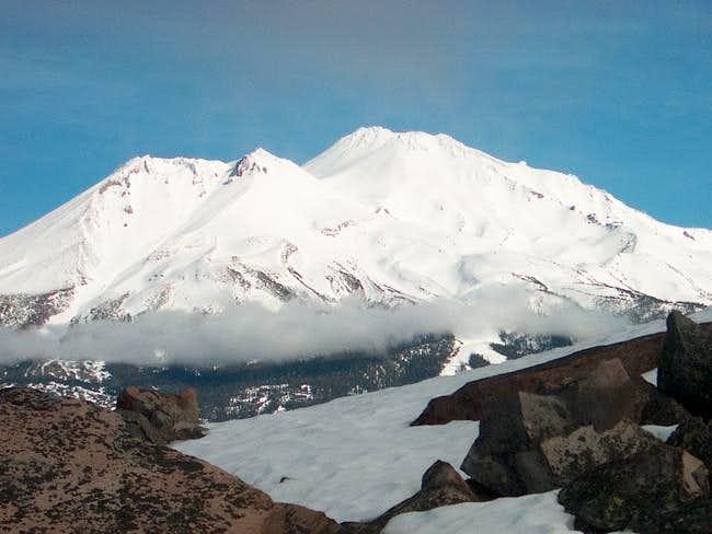 Mt. Shasta view from summit...