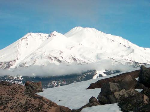Mt. Shasta view from summit...