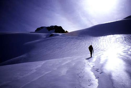 On the final easy slopes to...