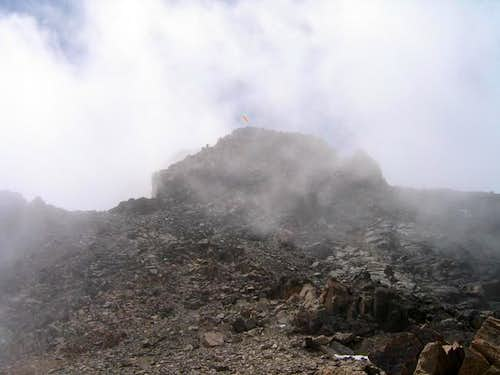 Summit view from the pre summit
