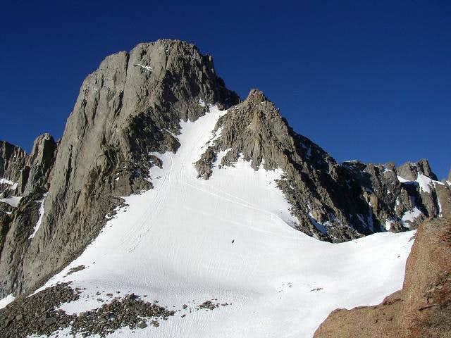 4-July-2005: North couloir,...
