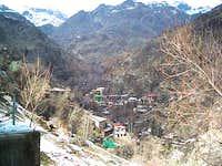 passghale village in autumn