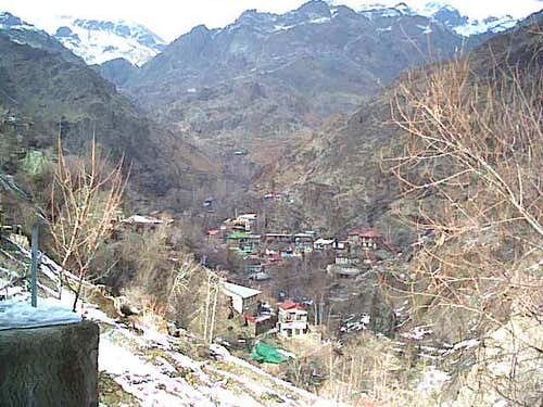 passghale village in autumn