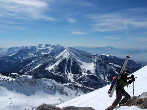 Gramps, just below the summit...