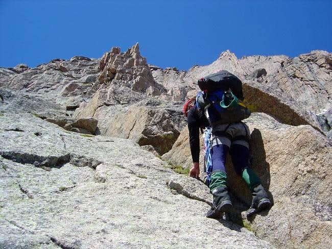 attm climbs near Kieners...