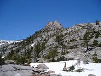 Below the ridge of Eagle Lake...