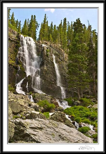 Rio Quemado Falls, along the...