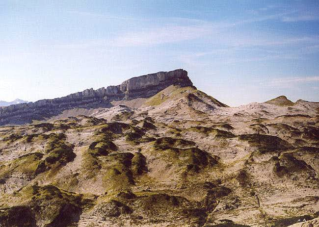 Hoher Ifen seen from the...