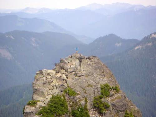 Me at the summit of the east...