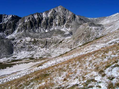 Father Dyer Peak's Northeast...