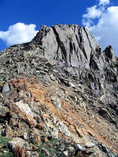 The final ridge run and...