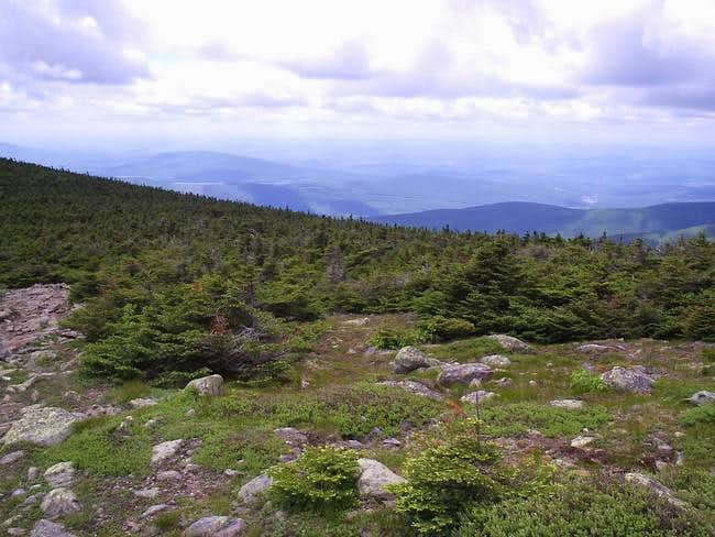 Looking west into Vermont...