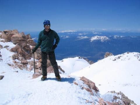 Mark O\'Neal on Mt. Shasta...