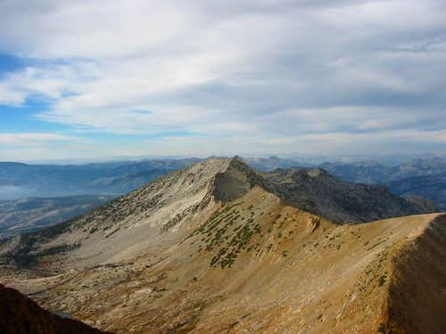 Gray Peak from Red Peak (Oct...