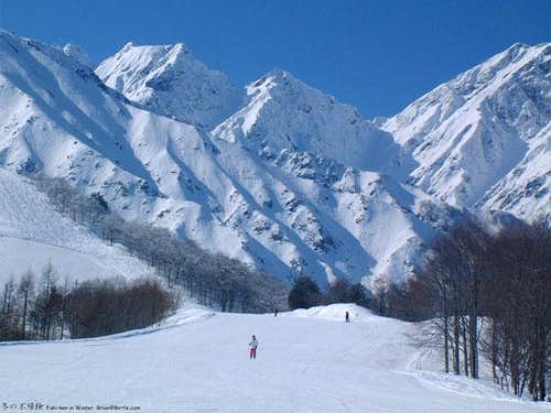 Kaerazu-kirette in winter...