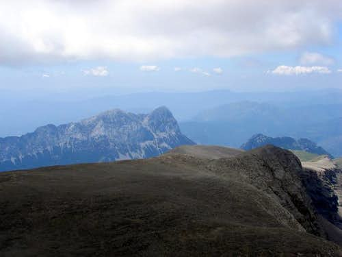 North-east face of Peña...