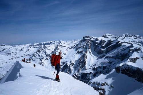 Summit of mount Taillon 3144...