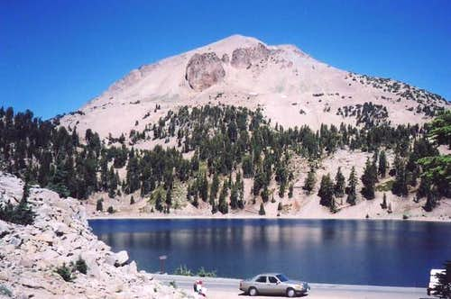 View of Lassen from Lake...
