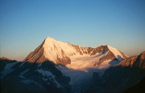 Weisshorn and Bishorn (4153 m)