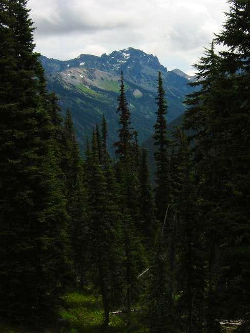 West face of Mount Deception...