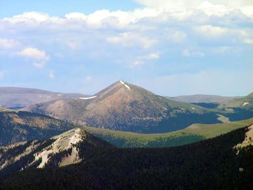 Chimayosos Peak from the...