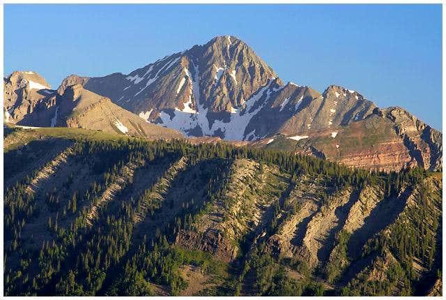 Wilson Peak rises over...