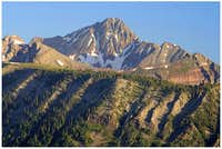 Wilson Peak rises over...