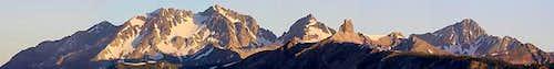 The Wilson massif, San Miguel...