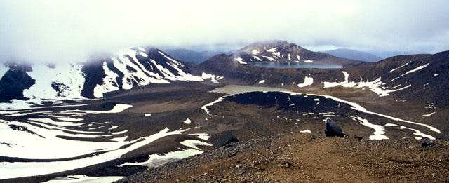 Taken from Red Crater looking...