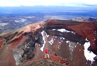 Red Crater - Showing colour...
